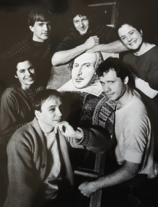 The company of Touchstone's TWELFTH NIGHT, circa 1989.