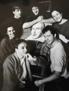 The company of Touchstone's TWELFTH NIGHT, circa 1989.