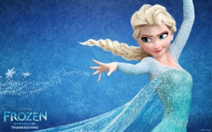 Publicity shot of Frozen